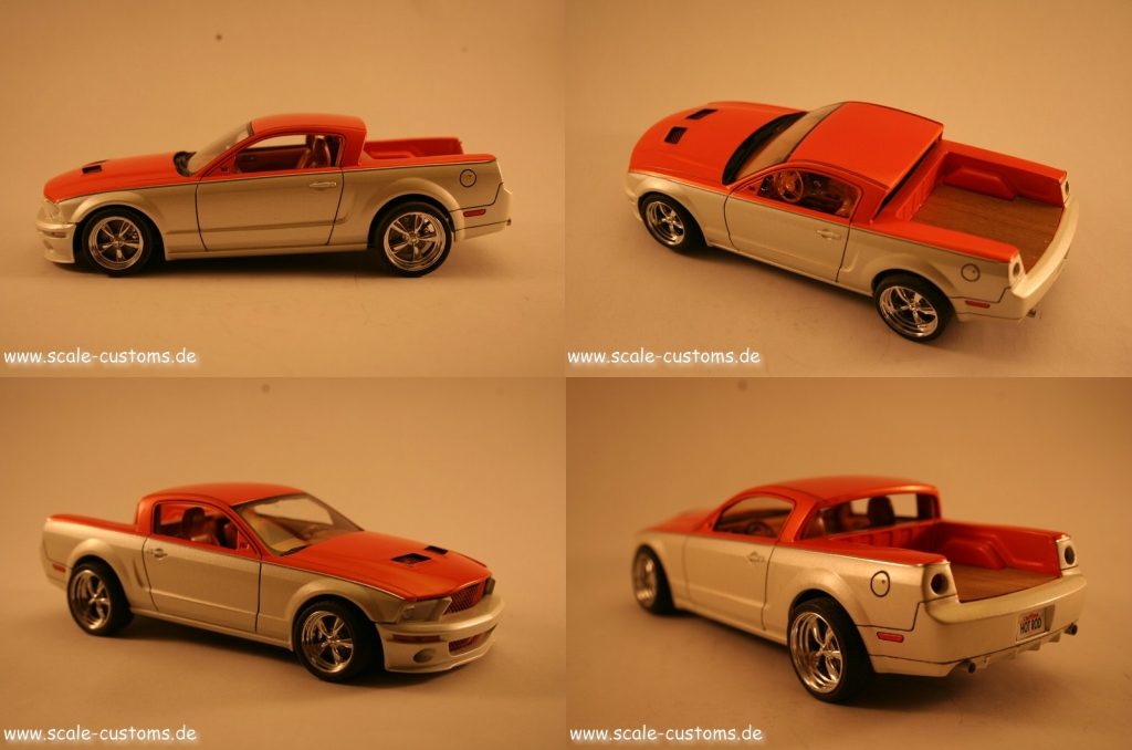 Ford Mustang Pickup Revell 1/24 1/25 Hot Rod